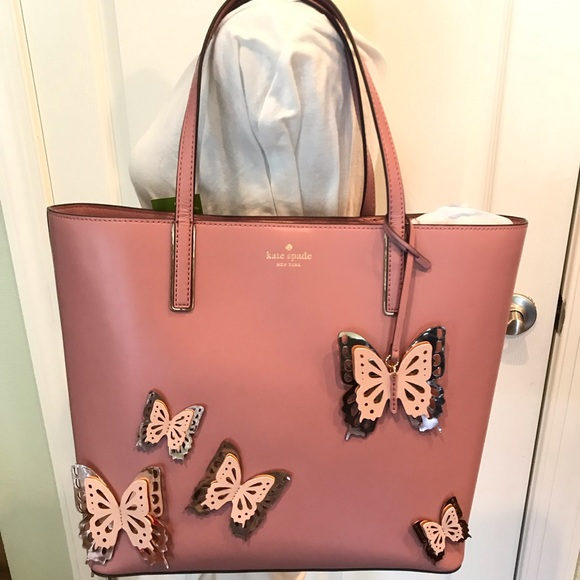 kate spade Handbags - Kate spade Little Len all the buzz dusty peony